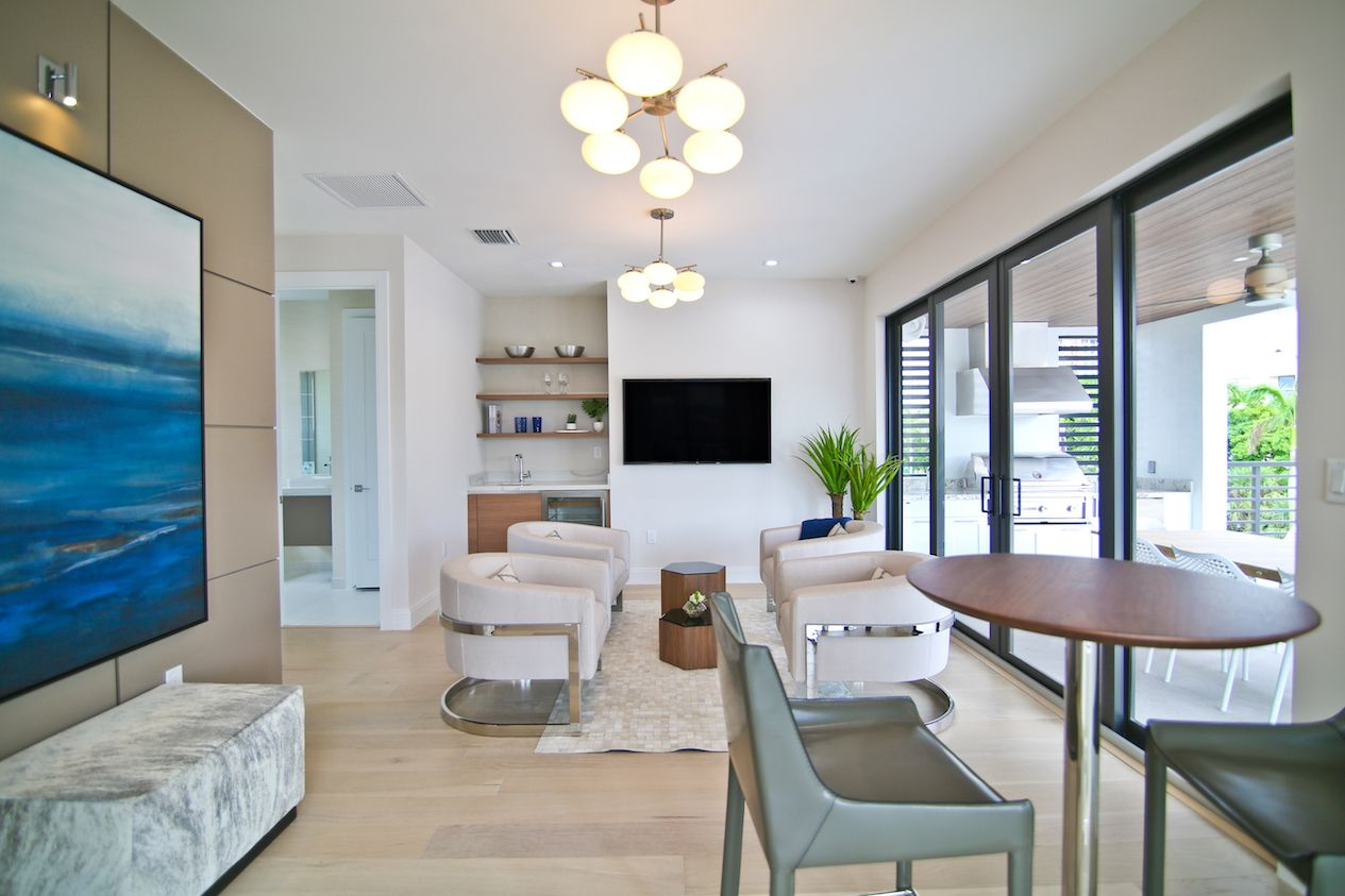 Living Area featured in the Model C - Three Story By CC Homes in Miami-Dade County, FL