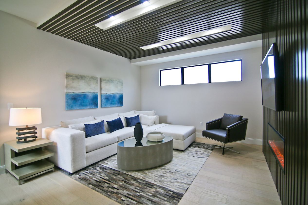 Living Area featured in the Model A - Two-Story By CC Homes in Miami-Dade County, FL