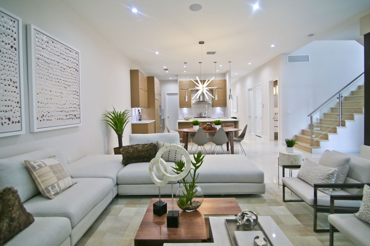Living Area featured in the Model B - Two Story By CC Homes in Miami-Dade County, FL
