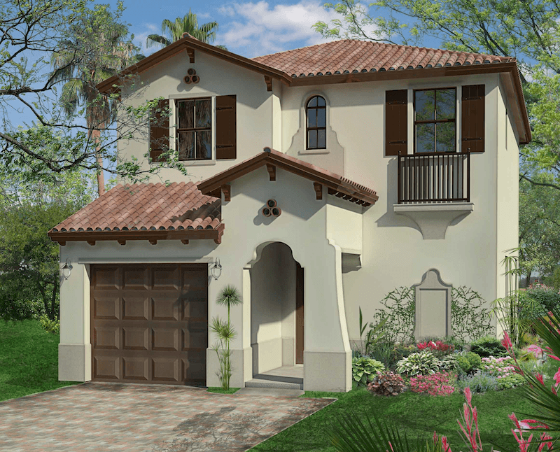 Exterior featured in the Anaheim By CC Homes in Naples, FL