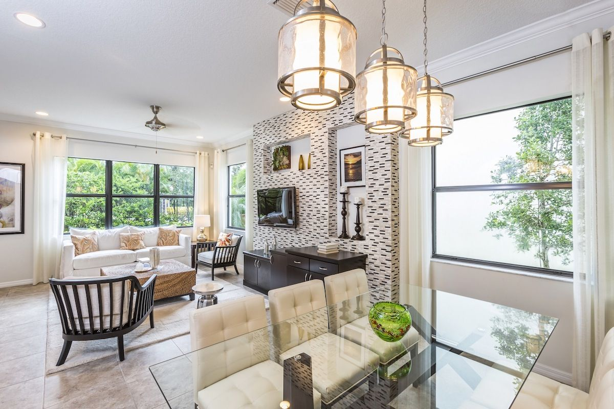 Living Area featured in the Anaheim By CC Homes in Naples, FL