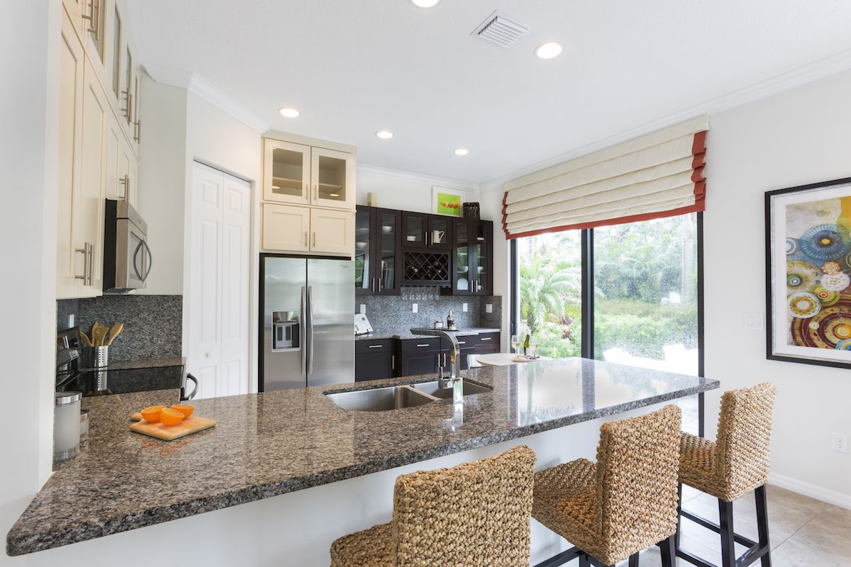 Kitchen featured in the Anaheim By CC Homes in Naples, FL