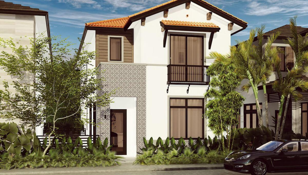 Exterior featured in the Cadiz B By CC Homes in Miami-Dade County, FL