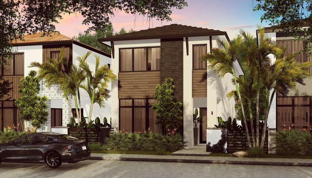 Exterior featured in the Cadiz C By CC Homes in Miami-Dade County, FL