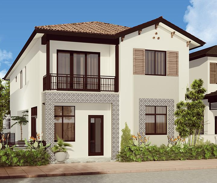Exterior featured in the Santorini By CC Homes in Miami-Dade County, FL