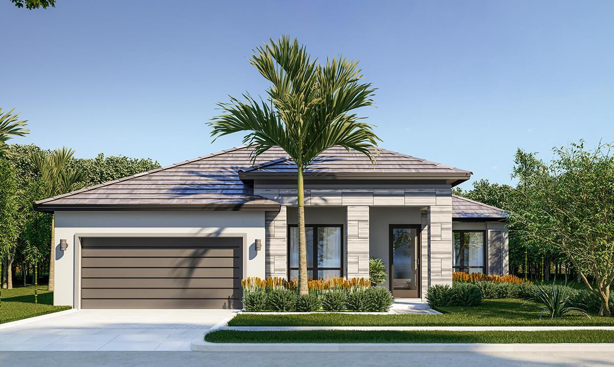 Exterior featured in the Gulf By CC Homes in Naples, FL