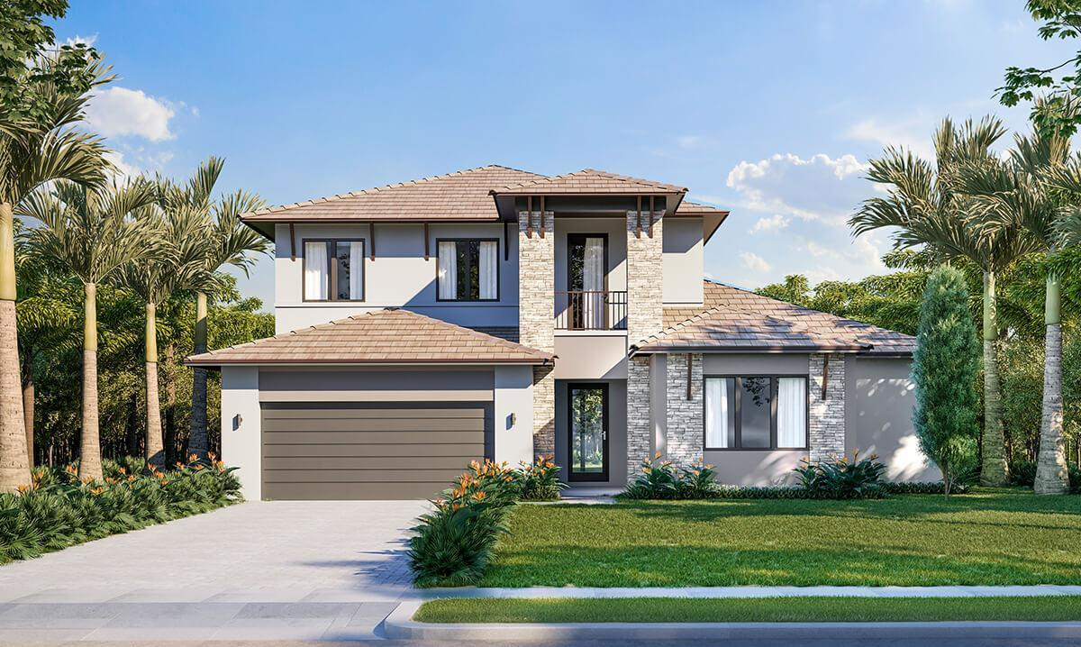Exterior featured in the Harbour By CC Homes in Naples, FL
