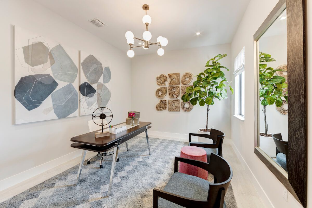 Living Area featured in the Harbour By CC Homes in Broward County-Ft. Lauderdale, FL