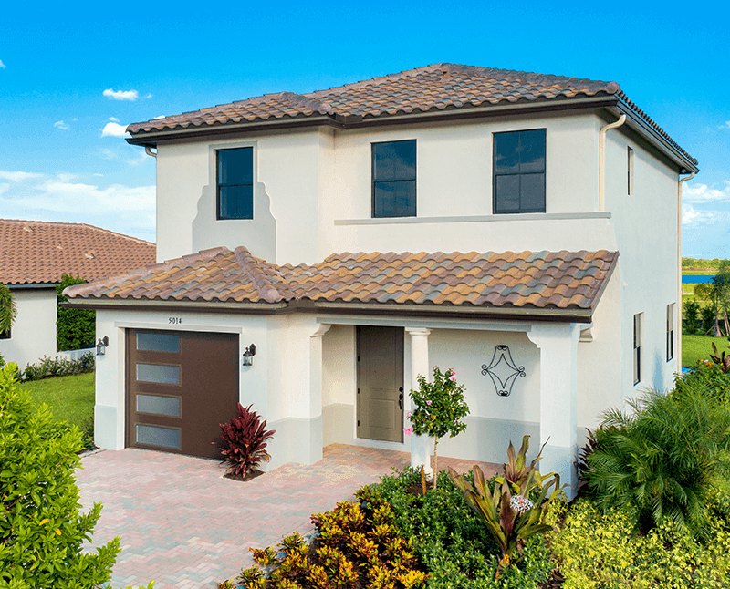 Exterior featured in the Balboa of Silverwood Collection By CC Homes in Naples, FL