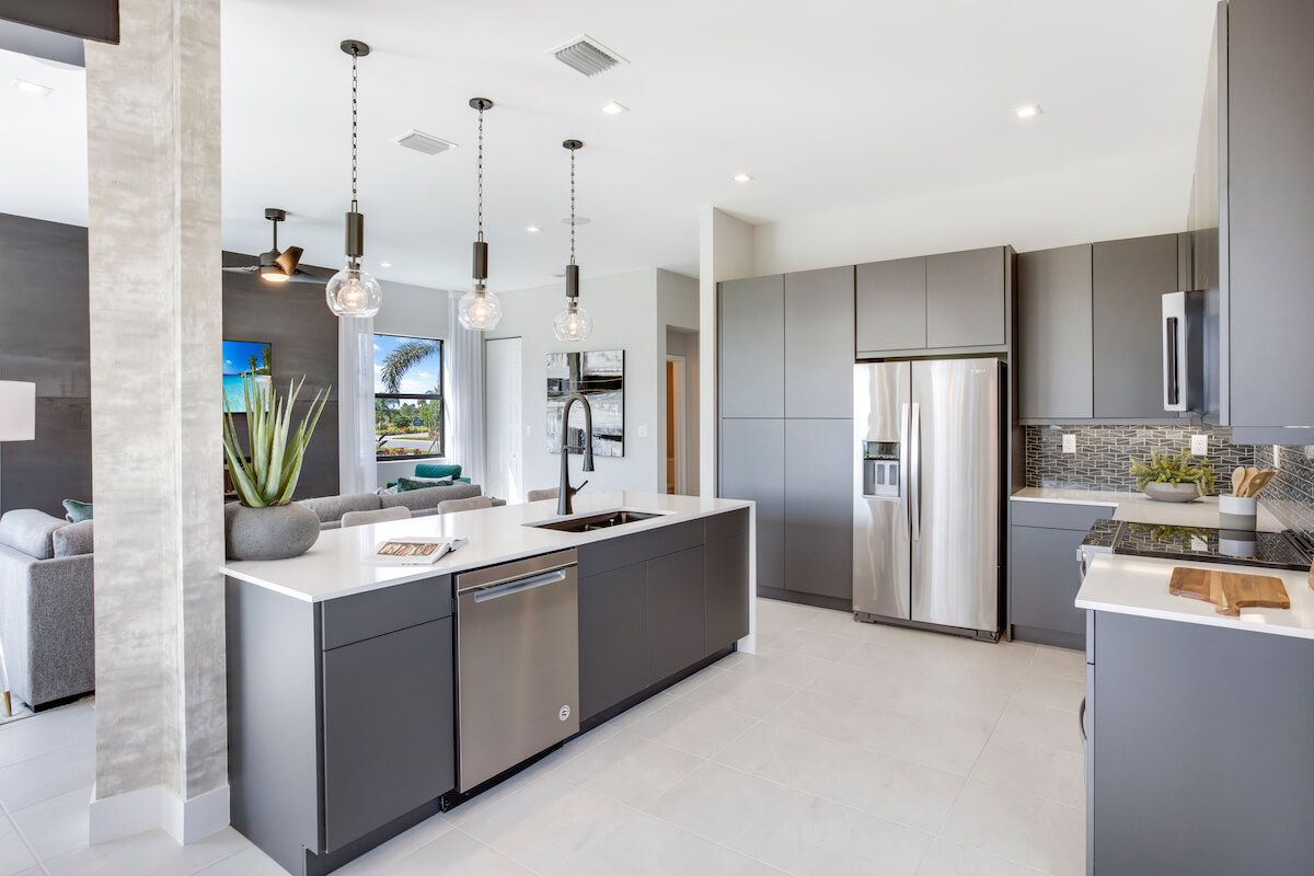 Kitchen featured in the Balboa of Silverwood Collection By CC Homes in Naples, FL