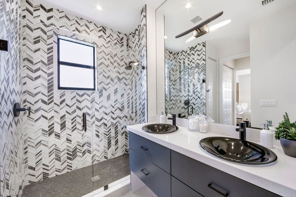Bathroom featured in the Balboa of Silverwood Collection By CC Homes in Naples, FL