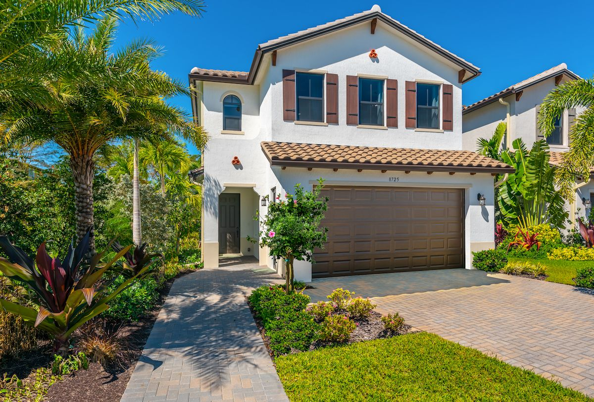 Exterior featured in the Doheny of Silverwood Collection By CC Homes in Naples, FL