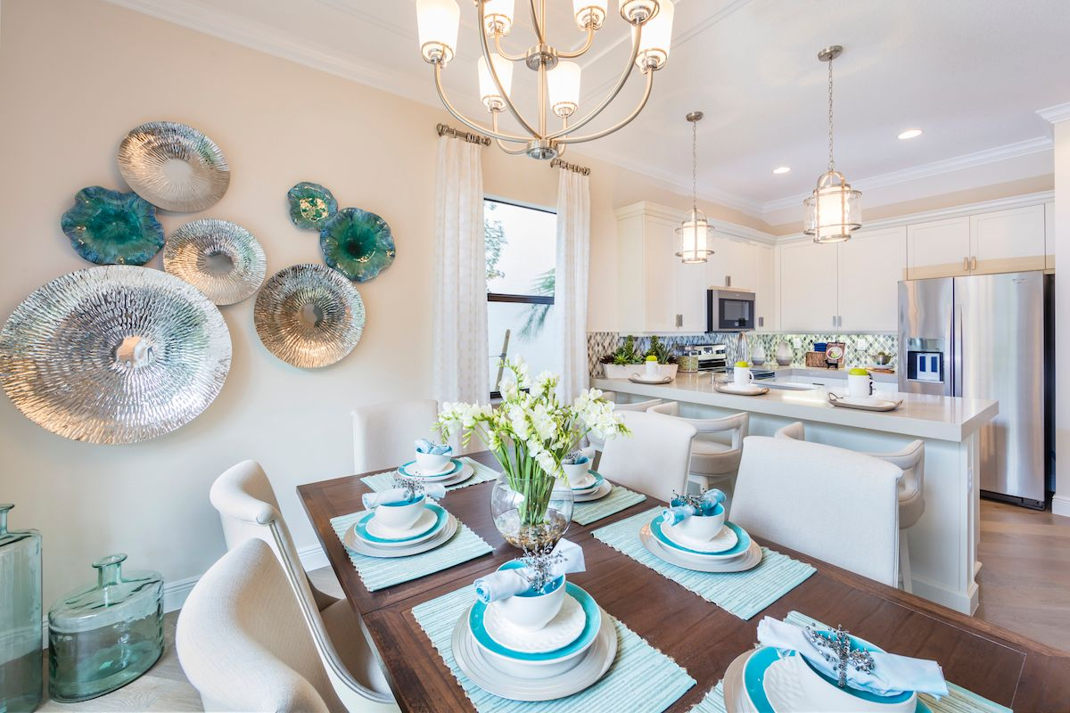 Kitchen featured in the Doheny of Silverwood Collection By CC Homes in Naples, FL