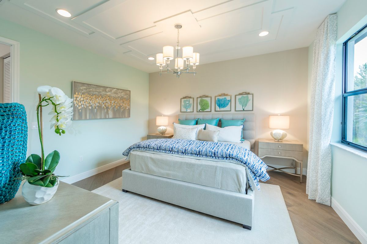 Bedroom featured in the Doheny of Silverwood Collection By CC Homes in Naples, FL