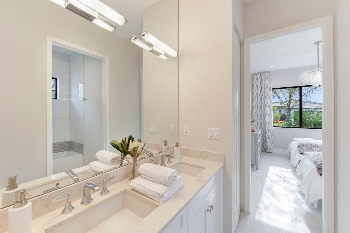 Bathroom featured in the Fairway By CC Homes in Naples, FL