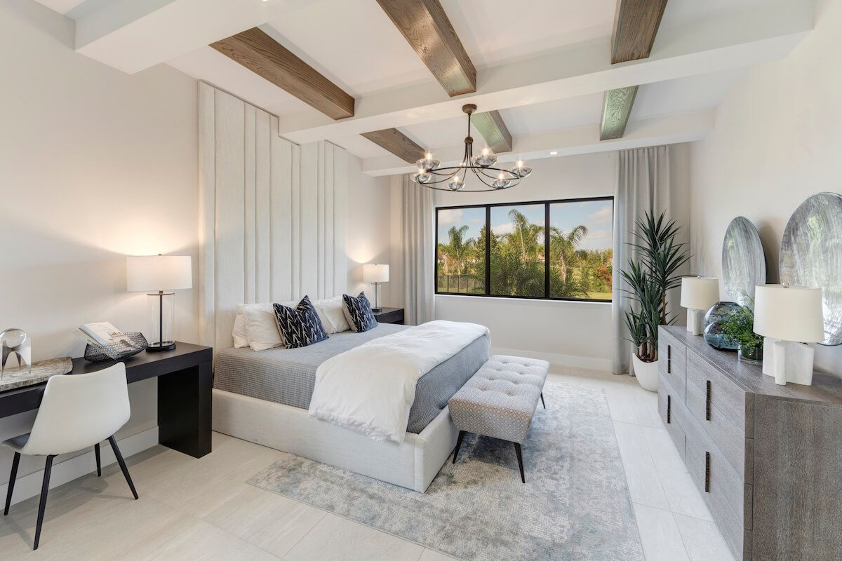 Bedroom featured in the Fairway By CC Homes in Naples, FL