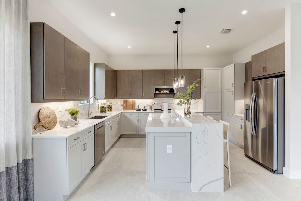 Kitchen featured in the Fairway By CC Homes in Naples, FL