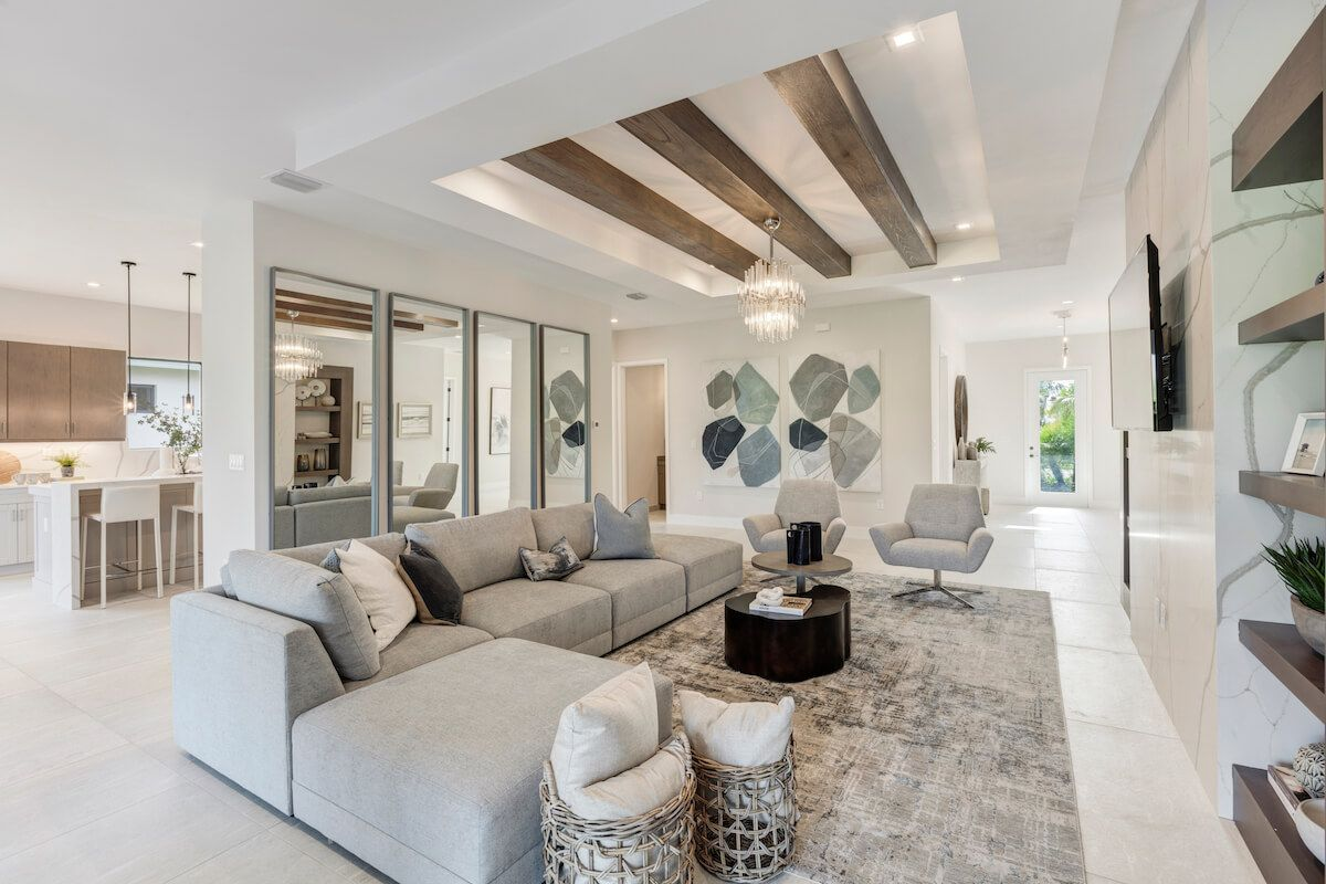 Living Area featured in the Fairway By CC Homes in Naples, FL