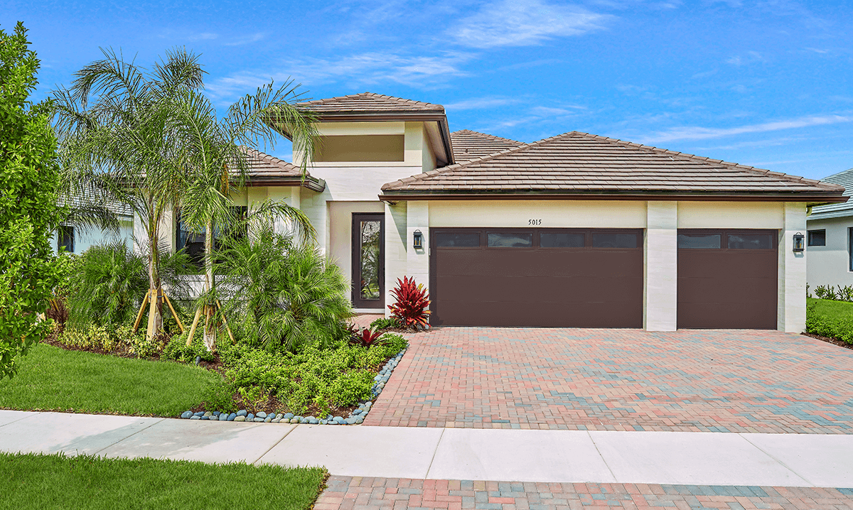 Exterior featured in the Fairway By CC Homes in Naples, FL