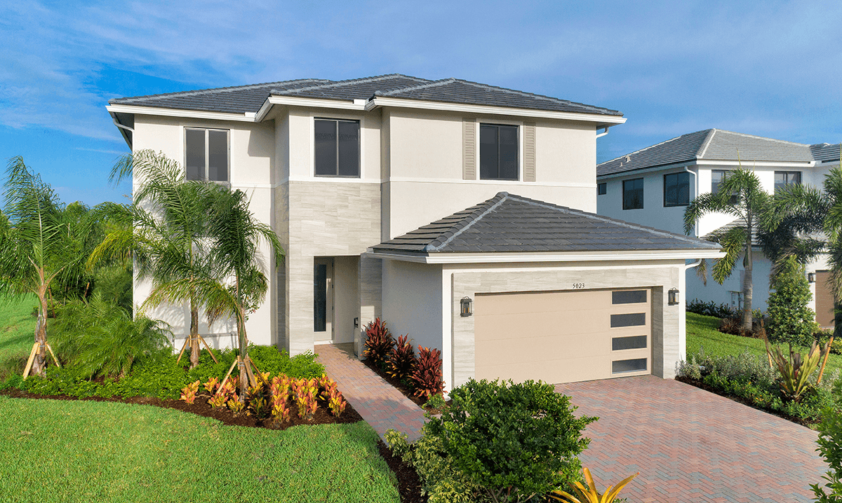 Exterior featured in the Hanford By CC Homes in Naples, FL