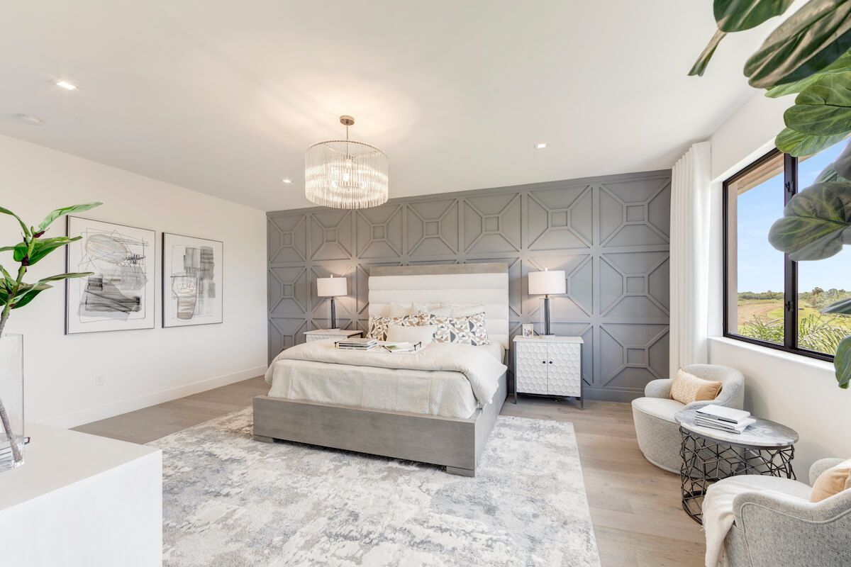 Bedroom featured in the Hanford By CC Homes in Naples, FL