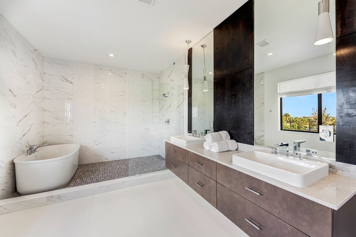 Bathroom featured in the Hanford By CC Homes in Naples, FL