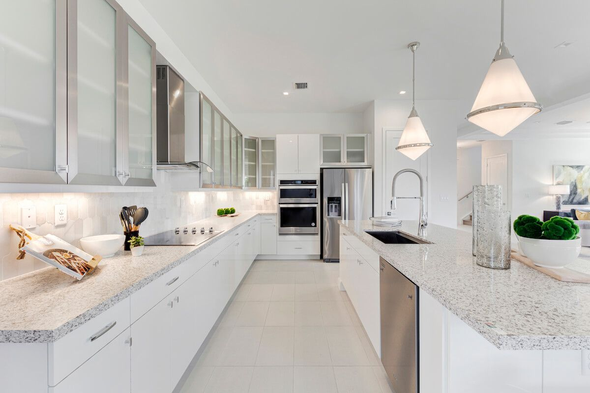 Kitchen featured in the Hanford By CC Homes in Naples, FL