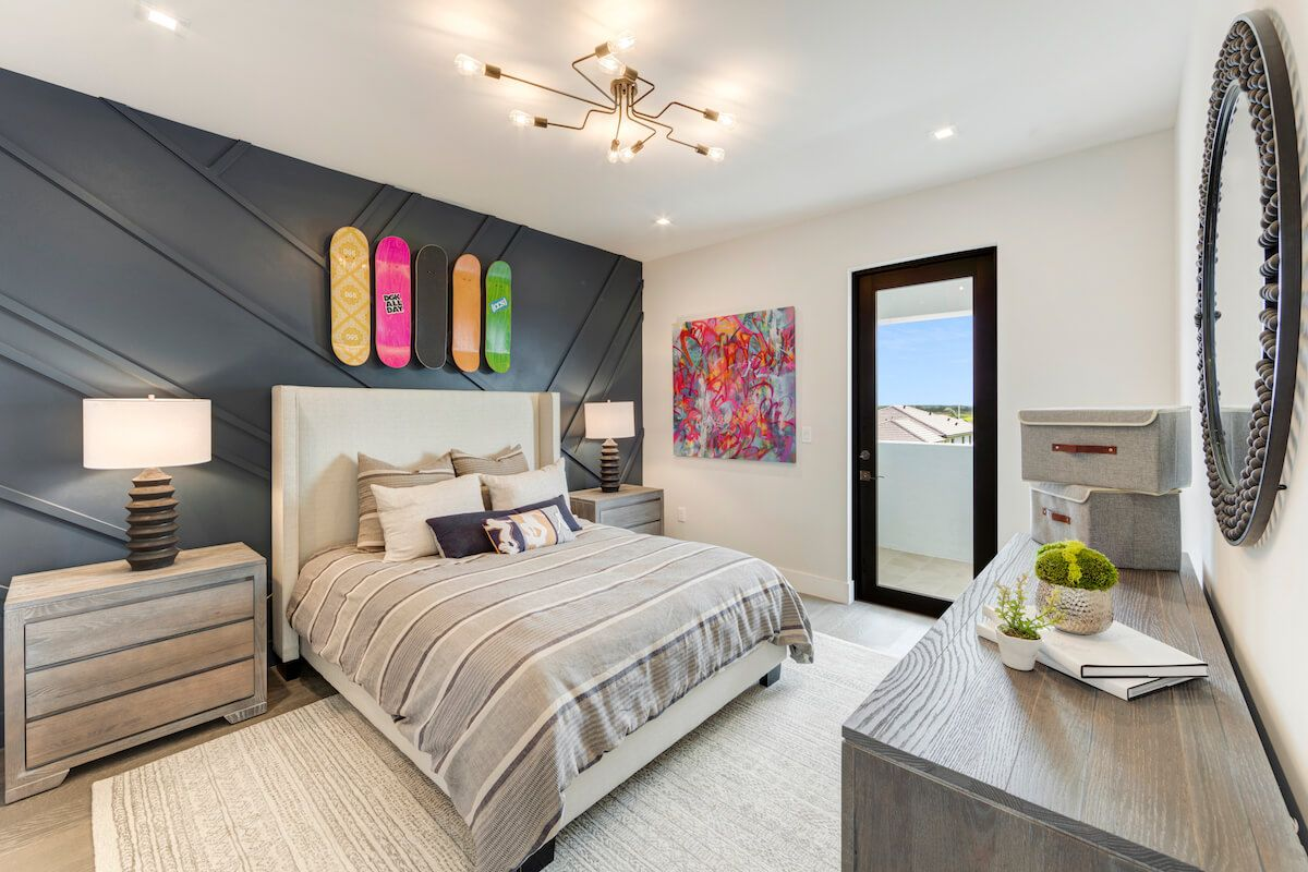Bedroom featured in the Harbour By CC Homes in Naples, FL