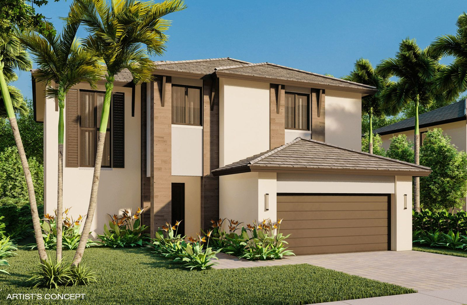 Exterior featured in the Majorca Model H By CC Homes in Miami-Dade County, FL