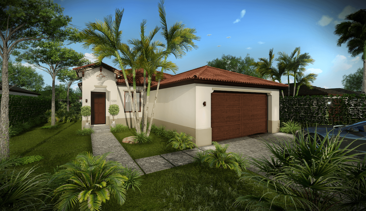 Exterior featured in the Acacia By CC Homes in Naples, FL