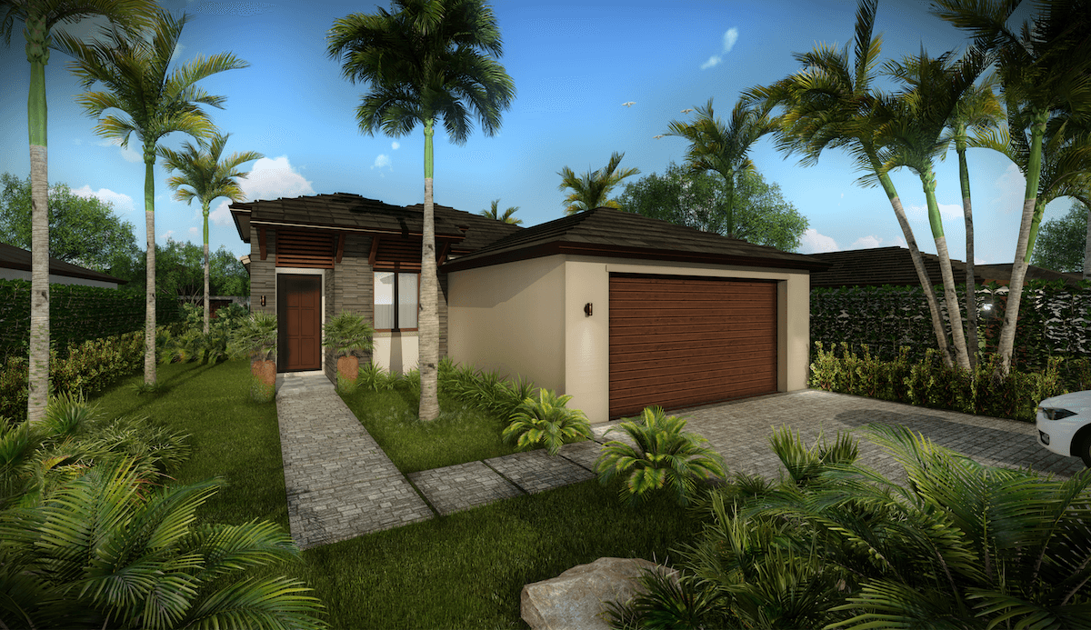 Exterior featured in the Birch By CC Homes in Naples, FL