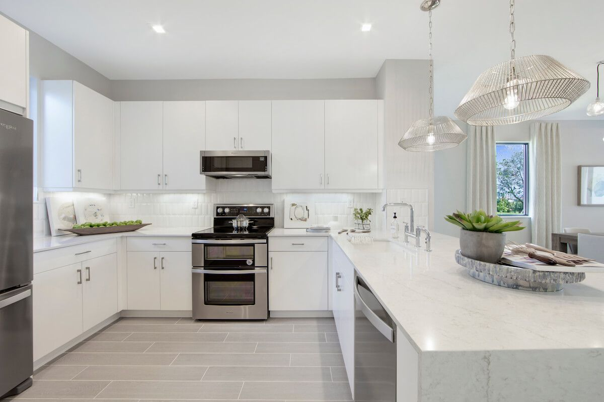 Kitchen featured in the Birch By CC Homes in Naples, FL