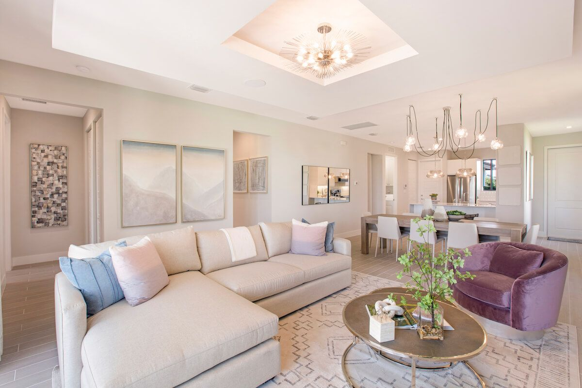 Living Area featured in the Birch By CC Homes in Naples, FL