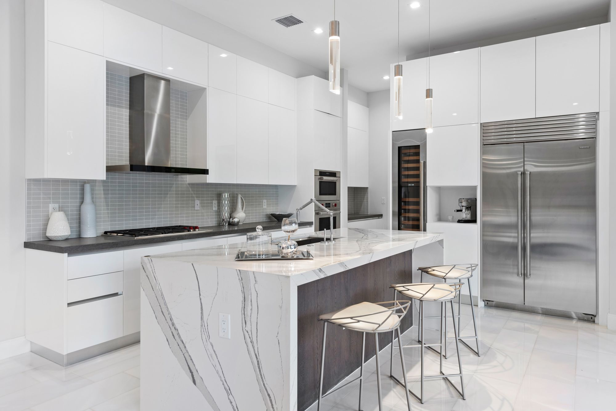 Kitchen featured in the Capri A Three Story By CC Homes in Miami-Dade County, FL