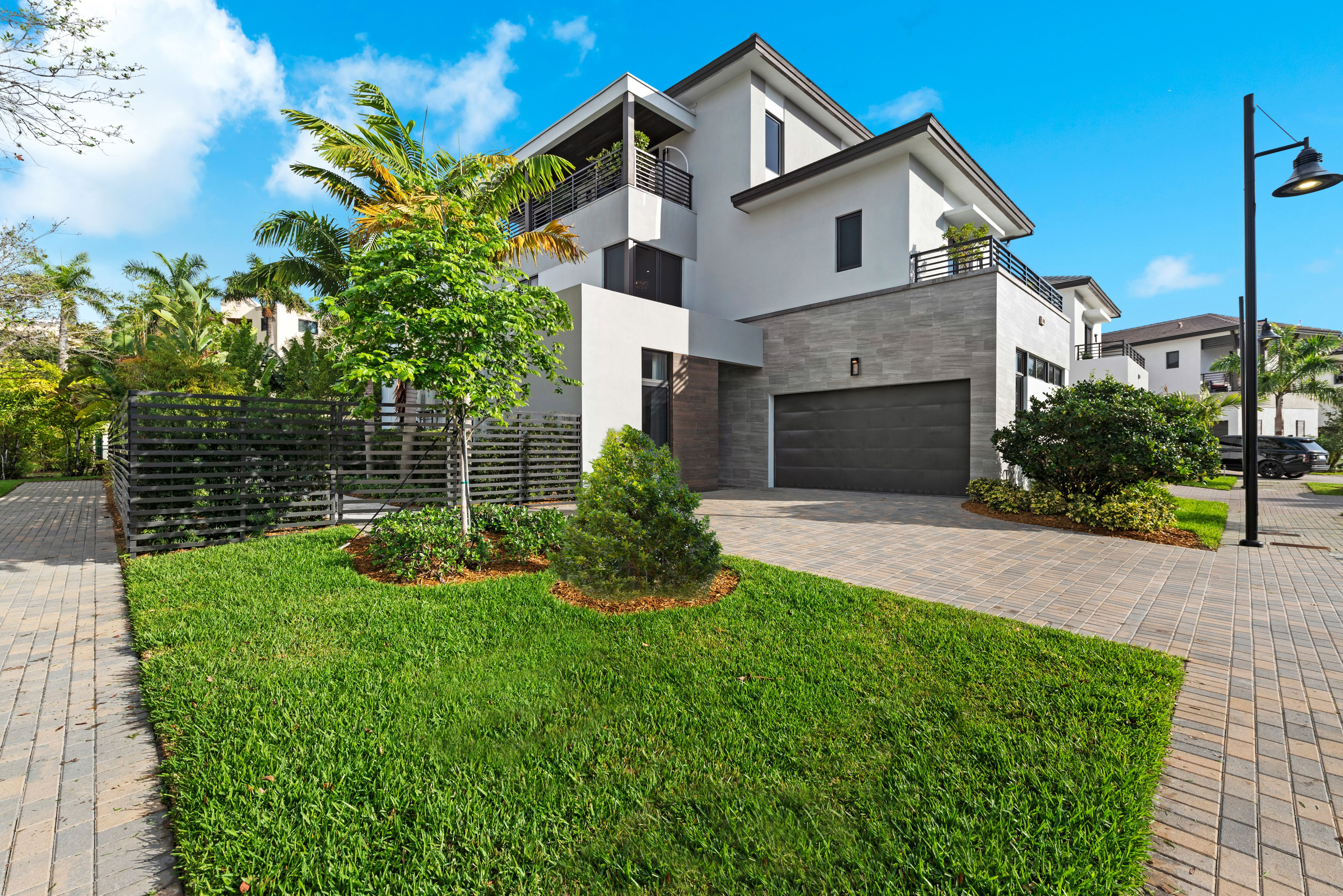 Exterior featured in the Capri B Three Story By CC Homes in Miami-Dade County, FL