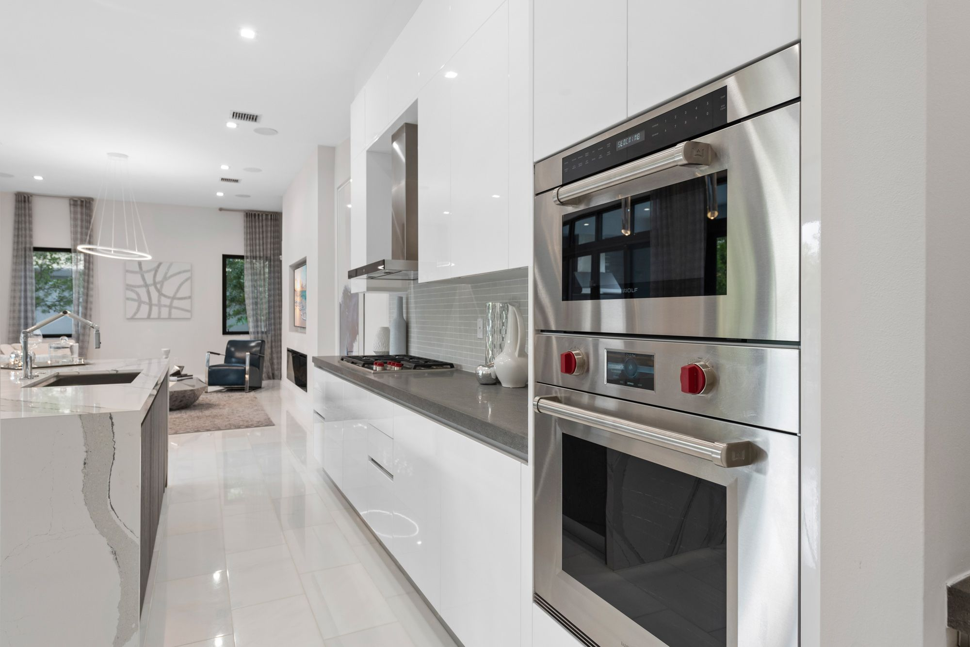Kitchen featured in the Capri B Three Story By CC Homes in Miami-Dade County, FL