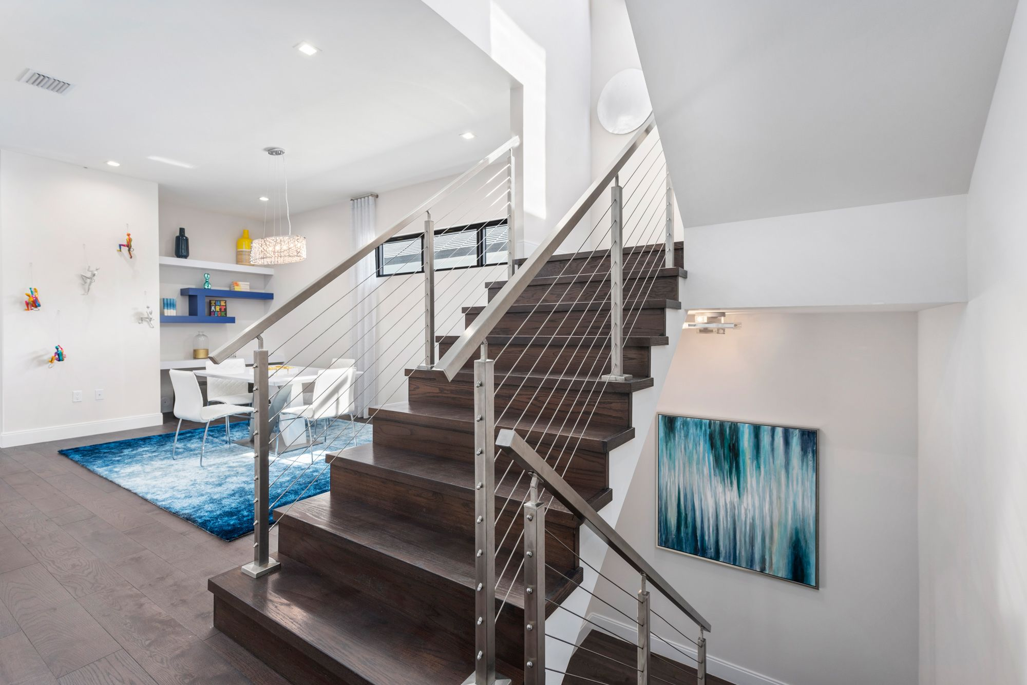 Living Area featured in the Capri B Three Story By CC Homes in Miami-Dade County, FL