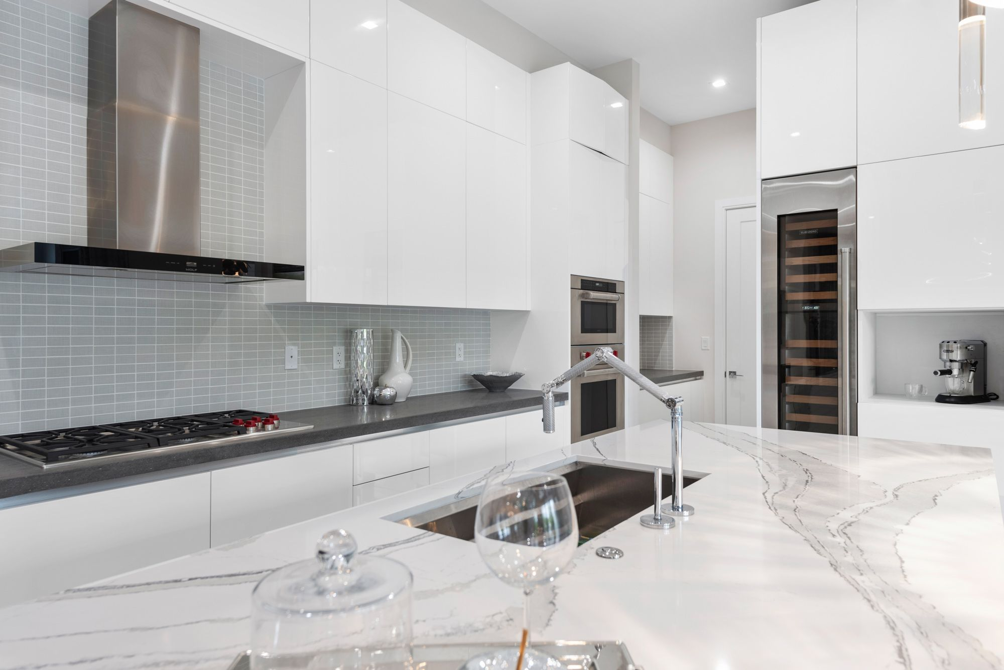 Kitchen featured in the Capri C Two Story By CC Homes in Miami-Dade County, FL