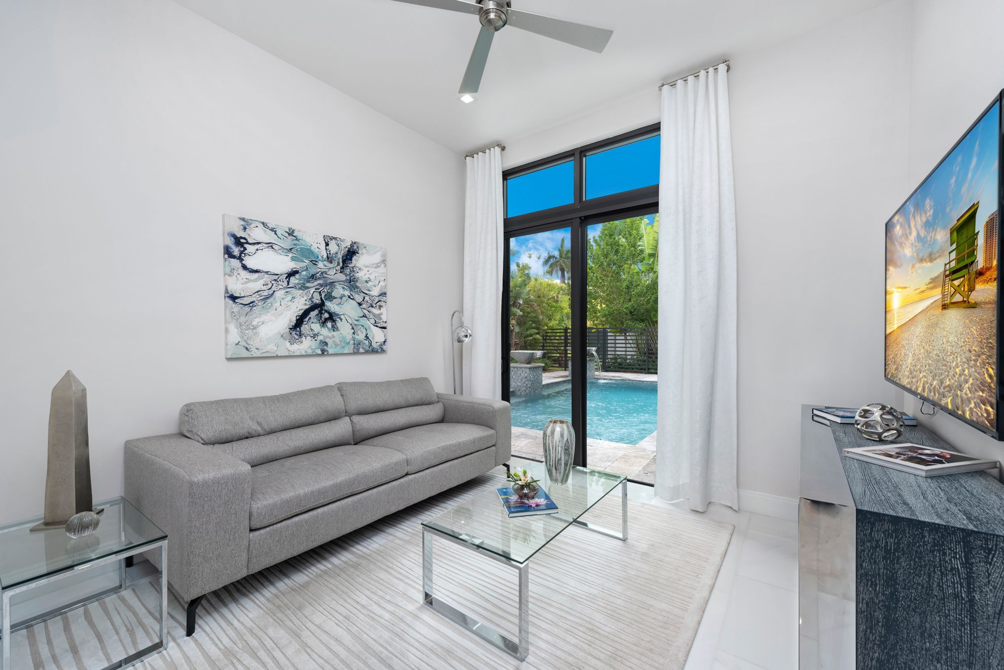 Living Area featured in the Capri C Three Story By CC Homes in Miami-Dade County, FL