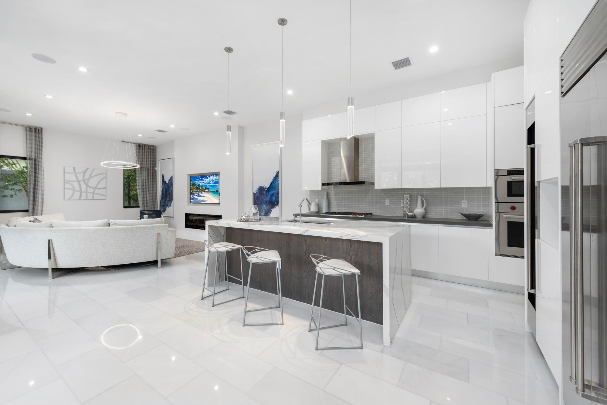 Kitchen featured in the Capri C Three Story By CC Homes in Miami-Dade County, FL
