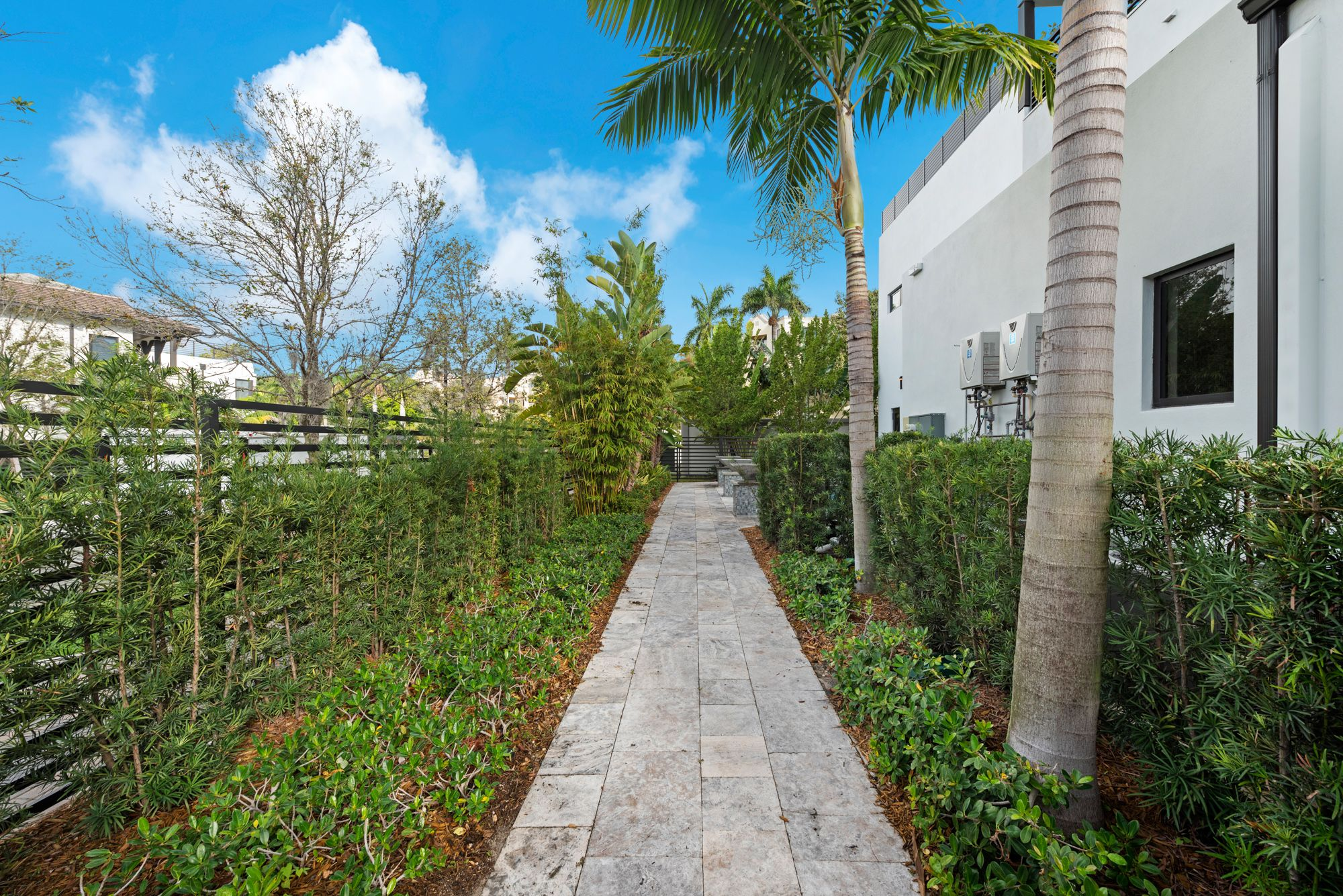 Exterior featured in the Capri C Three Story By CC Homes in Miami-Dade County, FL