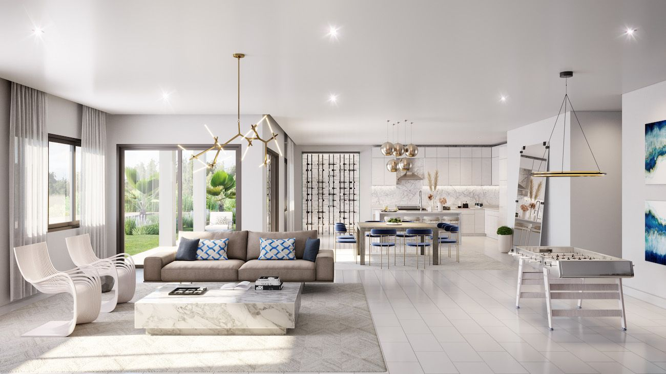 Living Area featured in the Inlet By CC Homes in Naples, FL