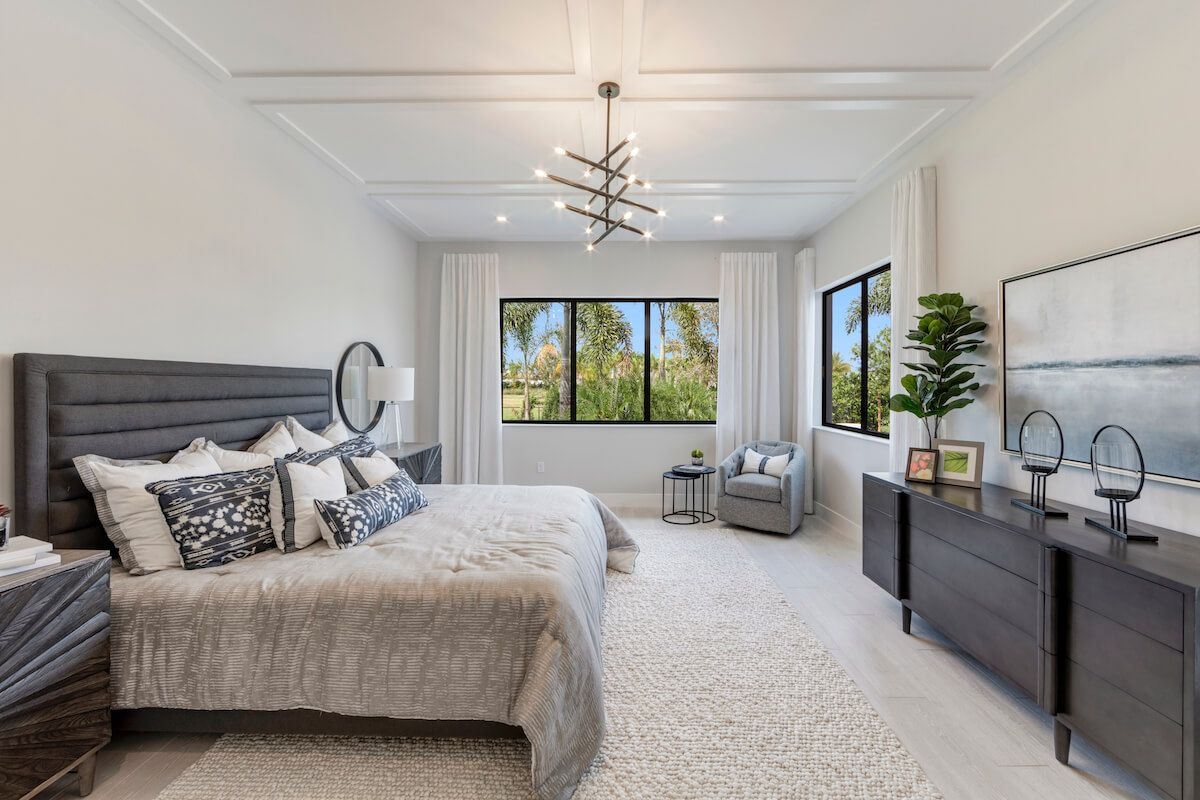 Bedroom featured in the Harbour By CC Homes in Broward County-Ft. Lauderdale, FL