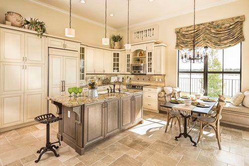 Kitchen-in-Almaden-at-Maple Ridge at Ave Maria-in-Naples