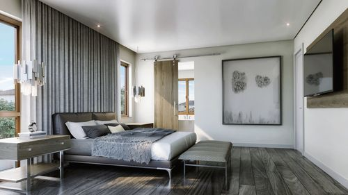 Bedroom-in-Model B-at-Canarias at Downtown Doral-in-Miami