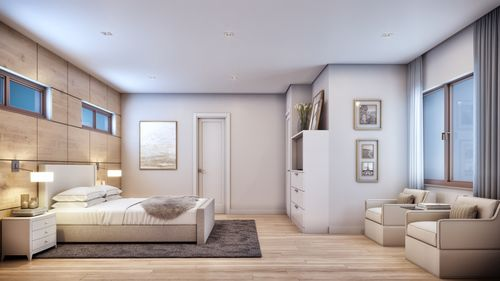 Bedroom-in-Model B - Two Story-at-Canarias at Downtown Doral-in-Miami