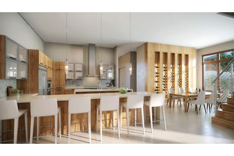 Kitchen-in-Model B - Three Story-at-Canarias at Downtown Doral-in-Miami