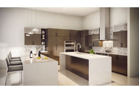 Kitchen-in-Model C - Two Story-at-Canarias at Downtown Doral-in-Miami