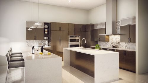 Kitchen-in-Model B - Two Story-at-Canarias at Downtown Doral-in-Miami
