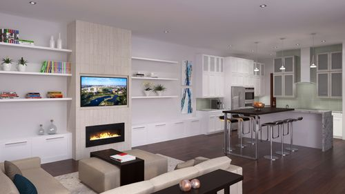 Greatroom-and-Dining-in-Model A - Three Story-at-Canarias at Downtown Doral-in-Miami